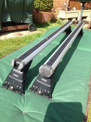 BMW Roof Bars for 3 Series E46 & 5 Series E39 **GENUINE**