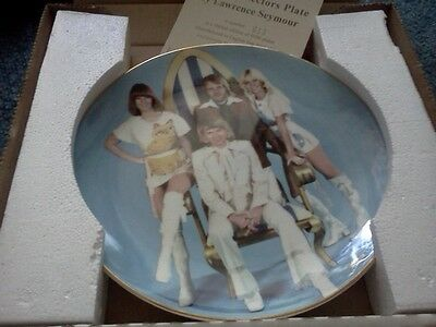 Limited Edition Abba Collectors Plate Cat Outfits '75 Agnetha Björn Benny Frida