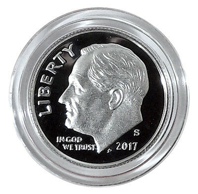 2017-S Roosevelt Dime Silver Proof coin-In stock, ready to ship!