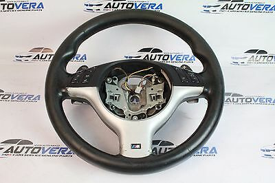 Bmw E46 3 Series M3 Smg Multifunction Steering Wheel With Shift Paddles