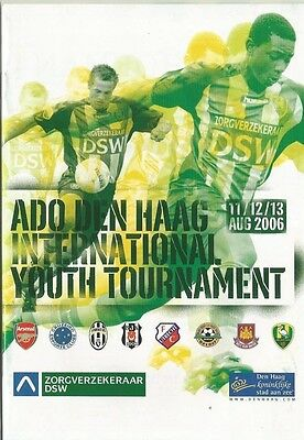 ADO DEN HAAG TOURNAMENT 2006  Incl WEST HAM UTD ARSENAL and others   VERSION 2