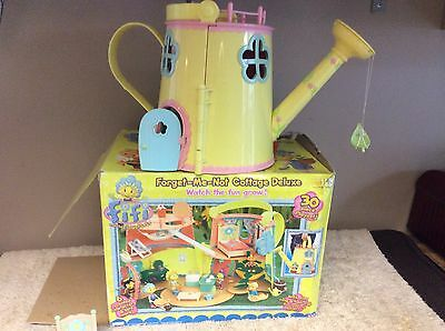Fifi & The Flowetots Forget Me Not Cottage Watering Can Playhouse Figures Boxed