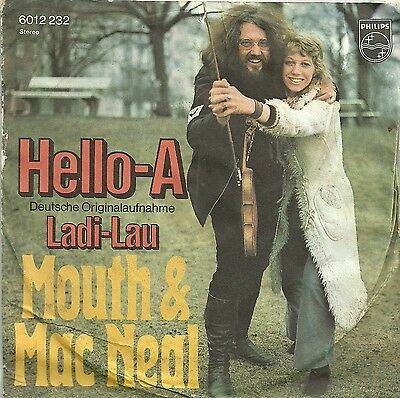 Mouth & McNeal - Hello A (Dt) (1972) Ladi Lau