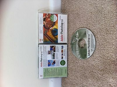 Adobe Photoshop 5 Limited Edition Pc Cd-Rom Free Post
