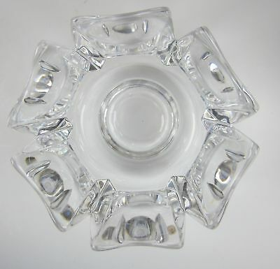 Orrefors Crystal CORONA Round Bowl EXCELLENT