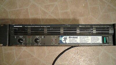 Mackie FR Series M-1400i Professional Power Amplifier-REDUCED!