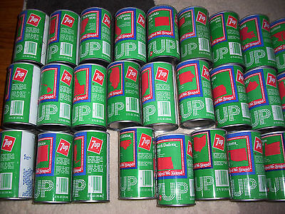 "1976 7up Soda Uncle Sam Cans,  ""United We Stand"", Lot of 46 Different, Nice"