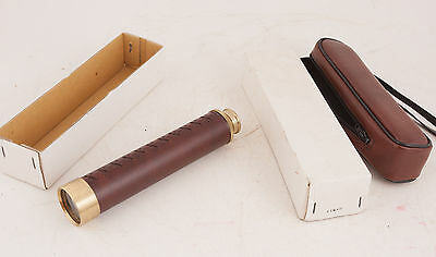 Telescope Japan 30x30mm w/Brown Vinyl Grip and Case in Oriignal Box