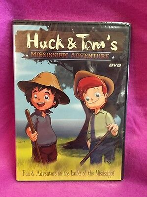 Huck and Tom's Mississippi Adventure (DVD, 2006) KM