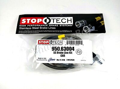 Stoptech Stainless Steel Front Brake Lines For 09-13 Dodge Challenger Srt8 Only
