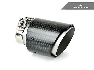 """Real Dry Carbon Fiber Exhaust Tip - Pre-Preg Universal - 2.5"""" Inlet - 4"""" Outlet"""