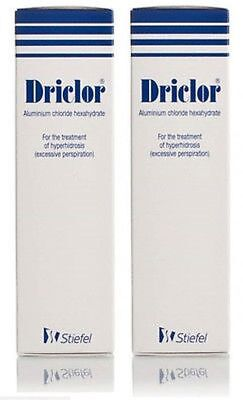Driclor Antiperspirant - 75 ML Roll-On For Excessive Sweating**Free Post**