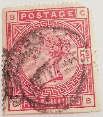 Great Britain  Scott#140 Used Stamp ...worldwide Stamps