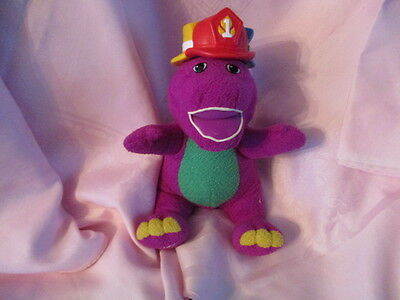 RARE Barney The Dinosaur Silly  Hats Talking Singing Interactive Soft Toy Plush