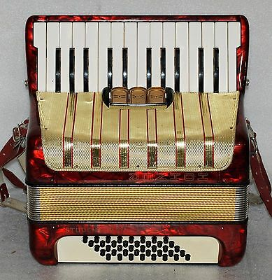 Hohner STUDENT IV 40 BASS Piano Accordion Akkordeon Fisarmonica Very good