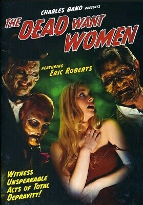The Dead Want Women (DVD, 2012) Horror Movie NEW Free Shipping SEALED