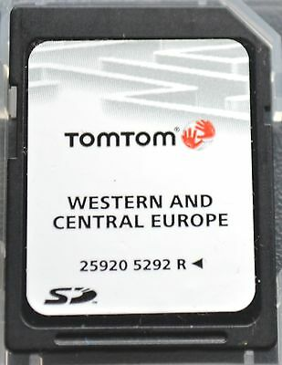 TomTom SD Card 4GB - Map of Western and Central Europe   -  Last One!!