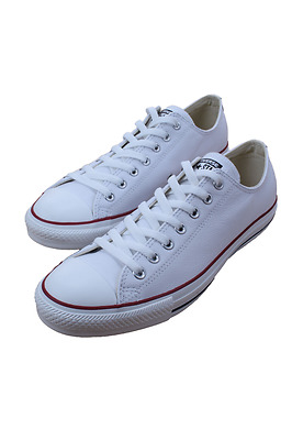 Chuck Taylor All Star Low White Leather 132173C Men Converse