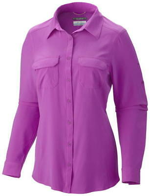 Columbia Women's Saturday Trail III Long Sleeve Shirt - XS, FOXYLOVE