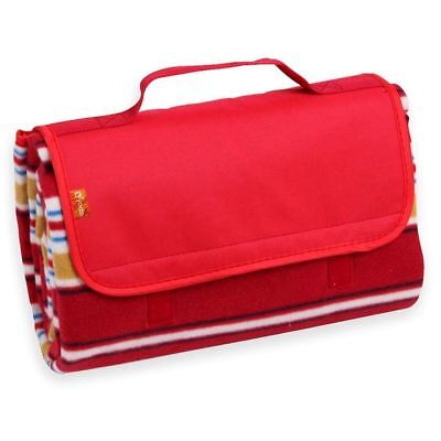 Yodo Compact Water Resistant Picnic Blanket Tote 59 X 53 inches with Soft...