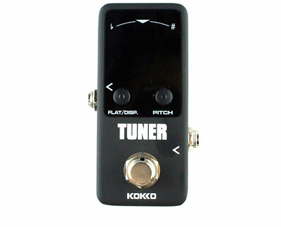 Kokko Chromatic Electric Guitar Bass Tuning Tuner Pitch Effects Pedal Stompbox