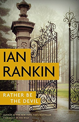 Rankin Ian-Rather Be The Devil  (US IMPORT)  HBOOK NEW