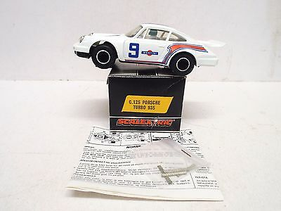 Scalextric C125 Porsche Turbo 935 Martini White Rn9 New Mint Boxed (Wm185)