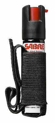 SABRE Dog Spray - Maximum Strength - Adjustable Hand Strap-Black