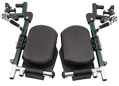 Mle Elevating Legrest Pair To Suit Deluxe Aluminum Wheelchair