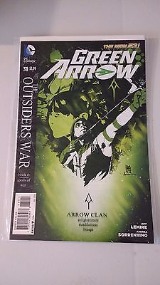 Green Arrow Issue 31 New 52