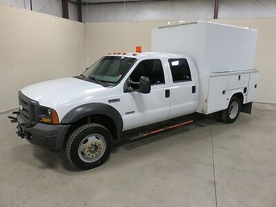 2005 Ford F-450 XLT Cab & Chassis - Crew Cab 4-Door 2005 Ford F-450 Super Duty XLT Crew Cab 4-Door 6.0L WALK IN WORK BODY