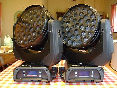 Chauvet Q-Wash 436Z LED Moving Head Wash Lights (PAIR) REDUCED!