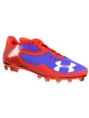 d24619935 Under Armour Men s Football Cleats Team Cam Low Mc Pro Red Royal White 11.5  M