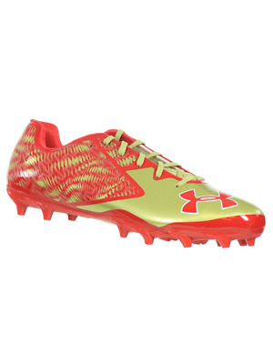 9a60f24ba Under Armour Men s Football Cleats Team Nitro Low Mc Red Gold White 15 M