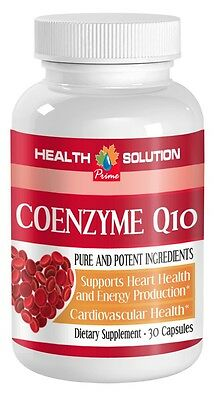 New Unique Supplement Coenzyme Q-10 100mg, Heart Health, Energy, Antioxidant (1)