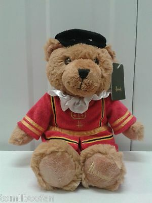 Harrods Beefeater Collectable Teddy Bear - LARGE**Ideal Birthday/Xmas Gift**