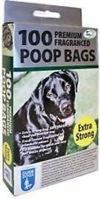 Dog Doggy Poo Poop Waste Bags Large Fragranced Extra Strong Pooper Scopper Bags