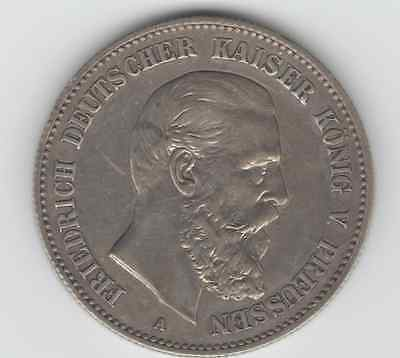 Prussia Coins1888-A 2 Mark Proof