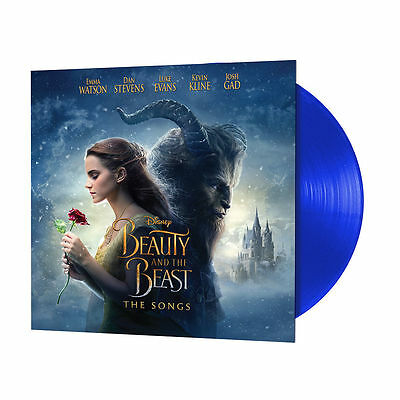 Beauty And The Beast - Soundtrack - Sealed BLUE COLOURED Vinyl LP