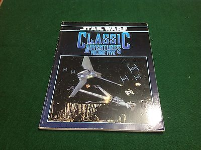 star wars (D6 system) Classic Adventures volume five 5 book west end games