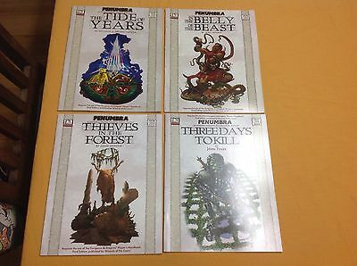 Atlas Games D20 system Penumbra role playing adventure books bundle collection