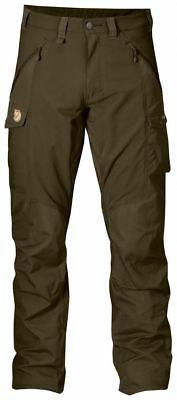 Fjallraven Abisko Trousers, Mens, Dark Olive, US33-34/Eur50