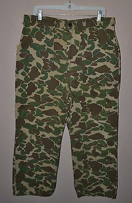 Vietnam Duck Hunter Camo Beo Gam Trousers Pants Advisor Special Forces 36w Large