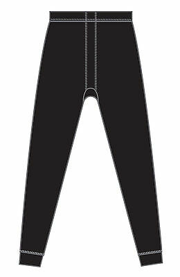 Rockwater Design Micra Wool Thermal Underwear Bottom - M, Black