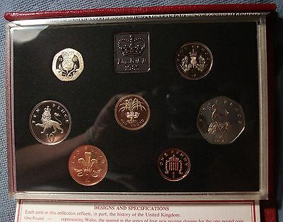 1985 Great Britain Proof Set