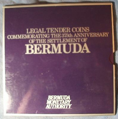 1984 Bermuda Mint Set, 375 Anniv. of Bermudas Settlement, 11 Coin Set