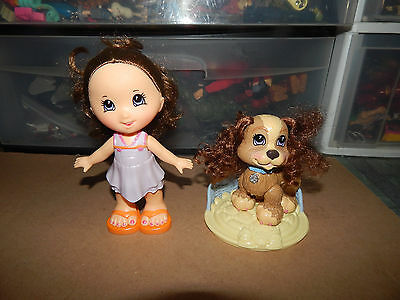 FISHER PRICE Snap Style Gabriela Lot - Doll, Dog, Accessories, Clothes  HTF