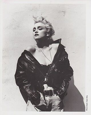 1986 Vintage Press Photograph MADONNA - Photographer Herb Ritts