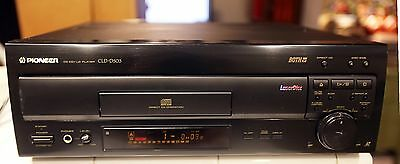 Pioneer Laser Disc Player CLD-D503 LD CD WORKING