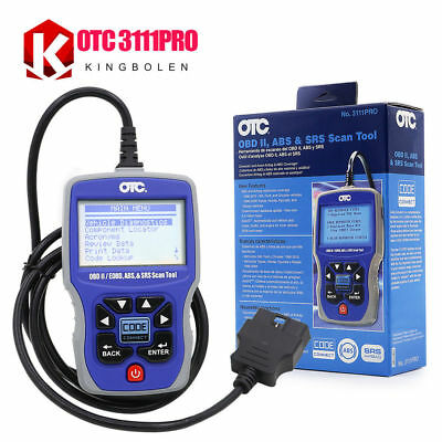 OTC 3111PRO OBD2 Scanner OTC 3111PRO Trilingual Scan Tool OBD II,CAN, ABS Airbag